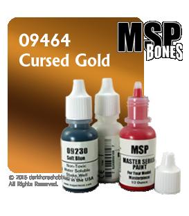 Master Series Paint: Bones Colors - 09464 Cursed Gold (1/2 oz)