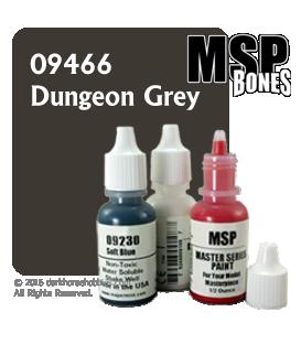 Master Series Paint: Bones Colors - 09466 Dungeon Grey (1/2 oz)