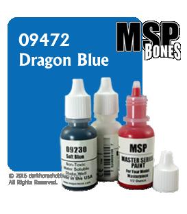 Master Series Paint: Bones Colors - 09472 Dragon Blue (1/2 oz)