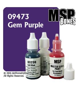 Master Series Paint: Bones Colors - 09473 Gem Purple (1/2 oz)