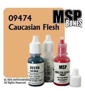 Master Series Paint: Bones Colors - 09474 Caucasian Flesh (1/2 oz)