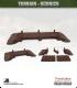 Terrain Scenics (10mm): Wooden Bridge