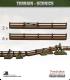 Terrain Scenics (10mm): Wooden Fencing Pack