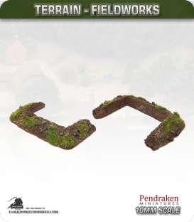 Terrain Fieldworks (10mm): Dugout (type 1)