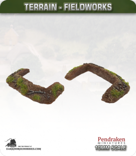 Terrain Fieldworks (10mm): Dugout (type 2)