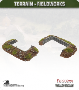 Terrain Fieldworks (10mm): Dugout (with wooden boards)
