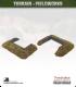 Terrain Fieldworks (10mm): Dugout (with wooden logs)