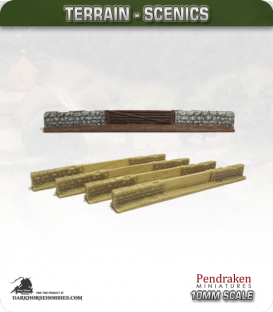 Terrain Scenics (10mm): Stone Walls (entrance)