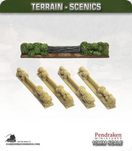 Terrain Scenics (10mm): Hedges (entrance)