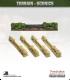 Terrain Scenics (10mm): Hedges (entrance)