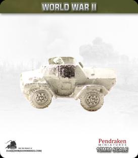 10mm World War II: British - Daimler Dingo Ccout car pack