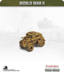 10mm World War II: British - Humber Mk II / III Armoured car