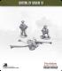 10mm World War II: British - 6pdr AT gun with Crew pack