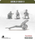 10mm World War II: British - 75mm Howitzer with Airborne Crew pack