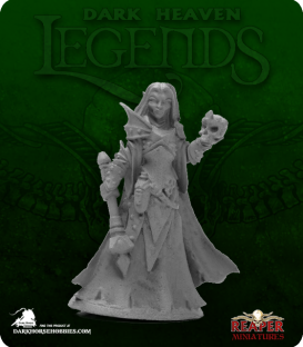 Dark Heaven Legends: Dark Elf Priestess