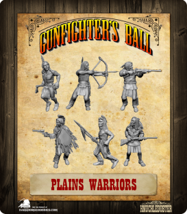 Gunfighter's Ball: Plains Warriors Pack