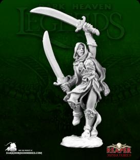 Dark Heaven Legends: Mi-Sher, Dervish Warrior