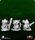 Dark Heaven Legends: Mouslings - Wizard Archer Warrior