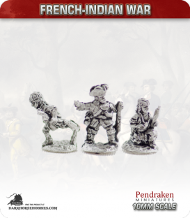10mm French-Indian War: Canadian Militia Summer