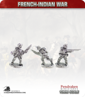 10mm French-Indian War: Late Light Infantry (Amherst's/Wolfe's reforms)