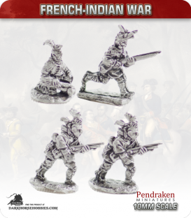 10mm French-Indian War: Woods Indians II