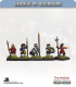 10mm League of Augsburg: Command - Standing