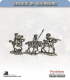 10mm League of Augsburg: Cavalry in Hat with Command