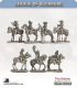 10mm League of Augsburg: Mounted Command - Standing