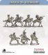 10mm League of Augsburg: Mounted Command - Moving