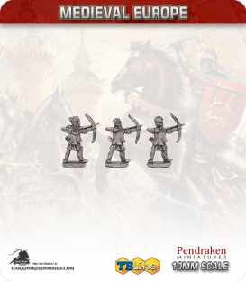 10mm European Medieval: Peasant Archers