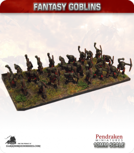 10mm Fantasy Goblins: Assorted Archers