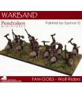 10mm Fantasy Goblins: Wolf Riders