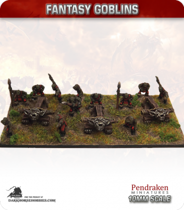 10mm Fantasy Goblins: Giant Crossbow with Crew