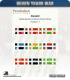 10mm Marlburian/Seven Years War Flags: French (type 1)