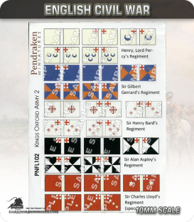 10mm English Civil War (Flags): King's Oxford Army 2