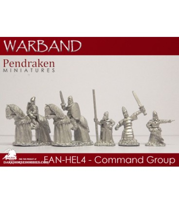 10mm Fantasy High Elves: Command Group