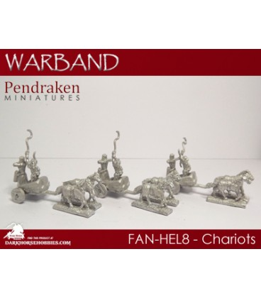 10mm Fantasy High Elves: Chariots with Crew