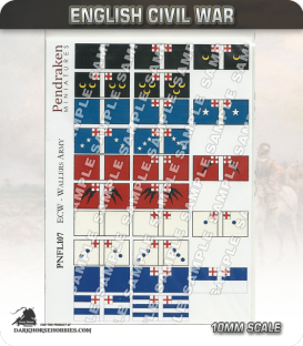 10mm English Civil War (Flags): Waller's Army