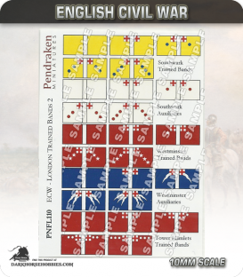 10mm English Civil War (Flags): London Trained Bands 2