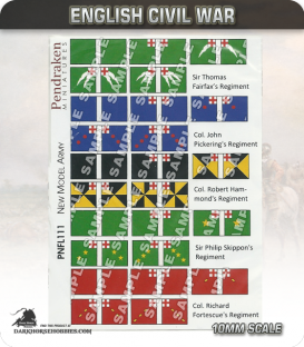 10mm English Civil War (Flags): New Model Army