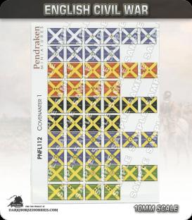 10mm English Civil War (Flags): Covenanter 1