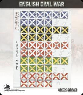 10mm English Civil War (Flags): Covenanter 2