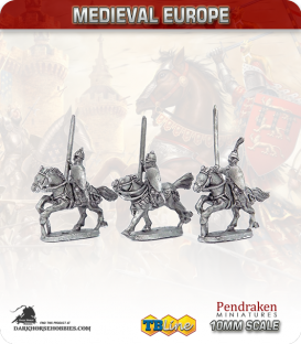10mm Eastern European Medieval: Heavy Knights with Lance