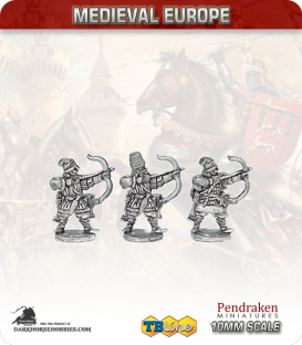 10mm Eastern European Medieval: Peasant Archers