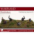 10mm Fantasy Hill Dwarves: Command Group