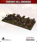 10mm Fantasy Hill Dwarves: Berserkers