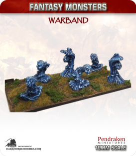 10mm Fantasy Monsters: Water Elementals