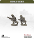 10mm World War II: German - Para MG34 Team (running)