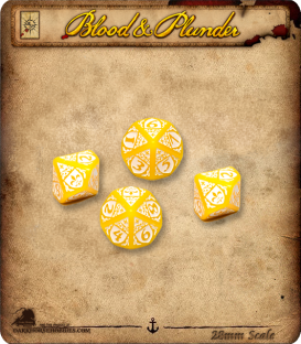 Blood & Plunder: D10 Dice Set (French)