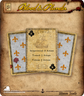 Blood & Plunder: Activation Deck (French)